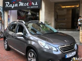 Peugeot 2008 year 2016