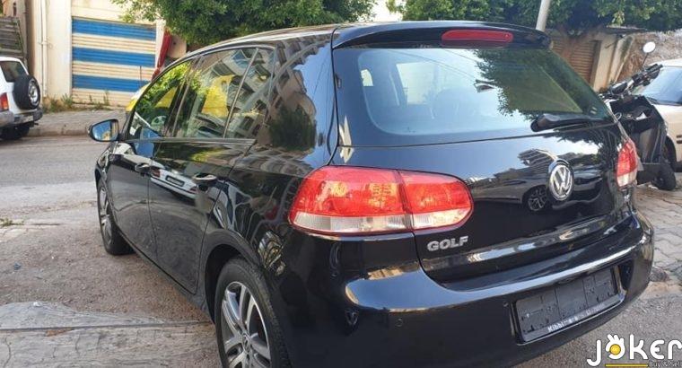 Golf 1.6 model 2010 50% cash 50% cheque