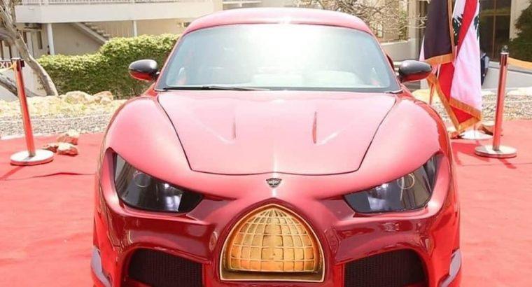 صور اول سيارة كهربائية لبنانية (القدس رايز)